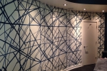 Contemporary Abstract Wallpaper Wallcovering