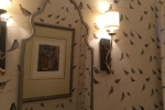 Bird Pattern Wallpaper - Powder Room
